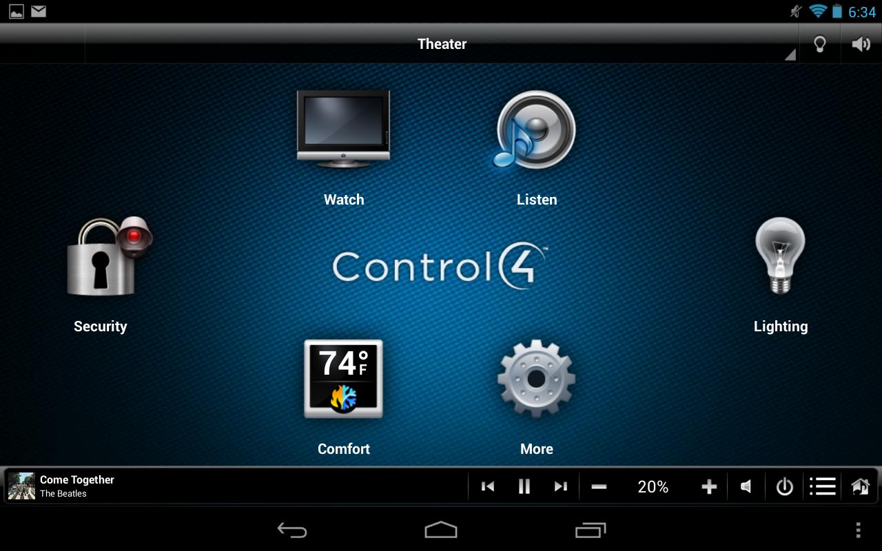 control4_home menu